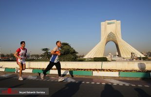 tehran I run Iran marathon