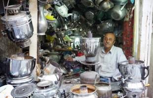 In de bazaar