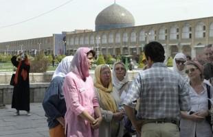 Belgische toeristen in Iran