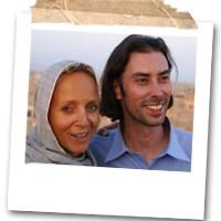 Floortje en Sebastiaan in Iran