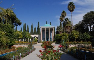Saadi mausoleum in Shiraz