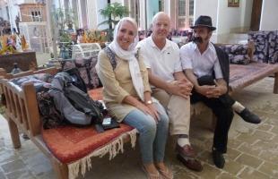 Mascha & Robbert met Iraanse vriend