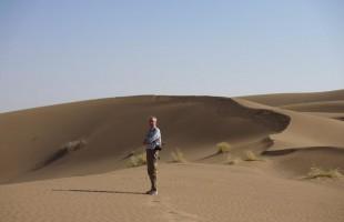 Pieter in de woestijn