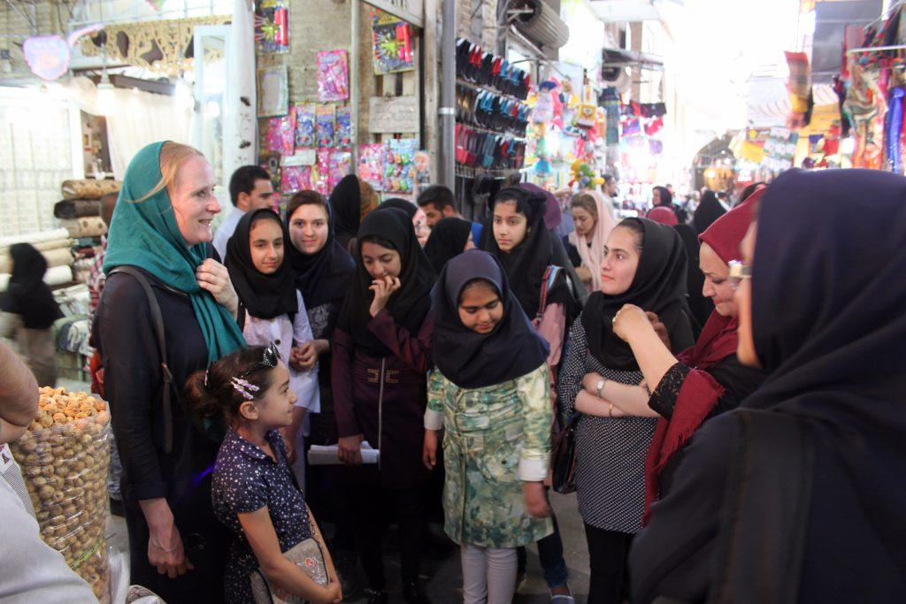 Renske in Iran