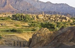 Kharanagh woestijndorp in Iran