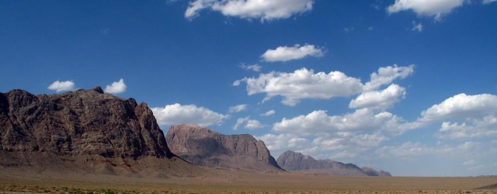 Woestijnlandschap Centraal Iran